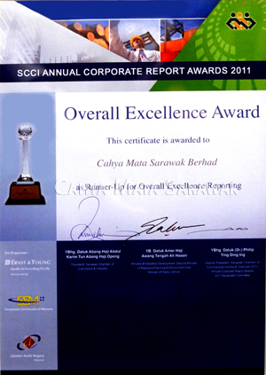 SCCI Annual Corporate Overall Excellence Award 2011