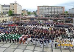 12th May_ with 3000 musicians at the Grand Closing Ceremony and Parade in Chemnitz