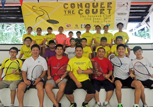 SuperSquashers' Conquer the Court
