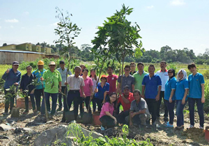 Tree Planting at CMS Penkuari