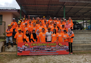 PPESW does CSR at SK Kampung Bobak, Bau