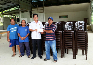 CMS Clinker donates to the Mambong Community