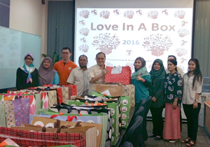 Spreading joy through 'Love-in-a-Box'
