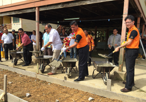New Walkway for SK Kampung Nyalau