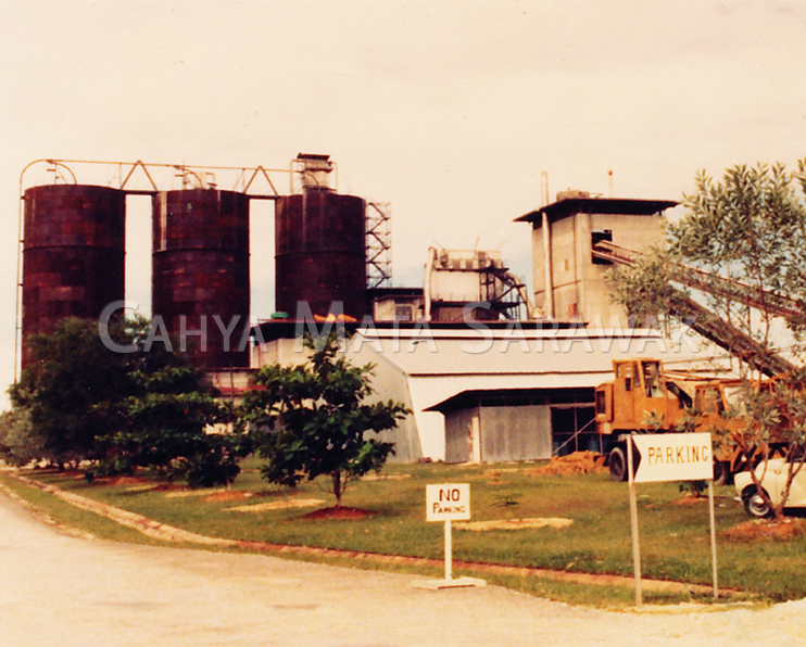 Cement Grinding Plant, Kuching in 1978