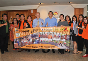 Launching of Safety Month