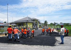 Surau Darul Jannah gets access road resurfaced