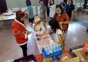 Supporting SSPCA Christmas Bazaar