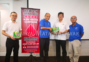 CMS supports the Sarawak Blood Donor Society