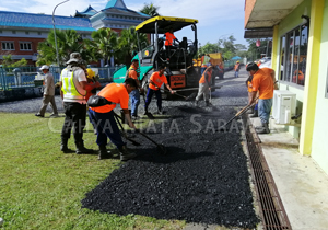 Kindy gets spruced up by RMU Kuching