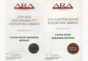 2019 ARA Reporting Award Certificates (Silver & Bronze)