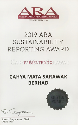2019 ARA Sustainability Reporting Award (Silver)